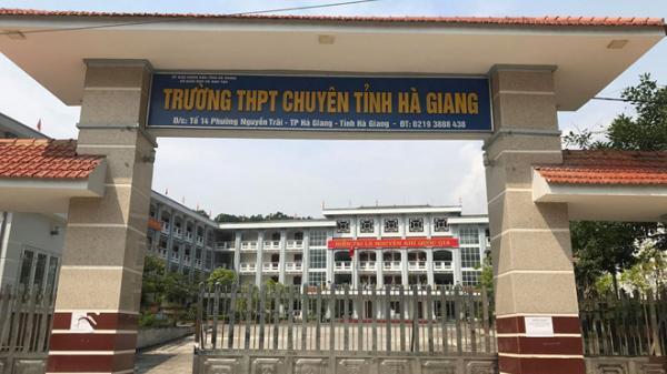 Hai thí sinh Hà Giang có điểm cao nhất nước nhưng thi thử 'lẹt đẹt'