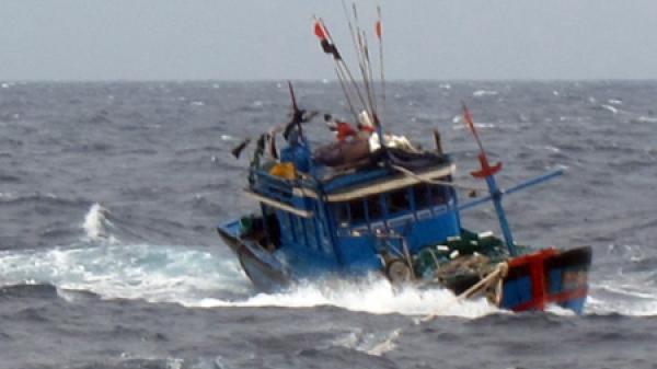 Tàu cá hải Phòng đắm ở biển Cô Tô, 3 ngư dân mất tích