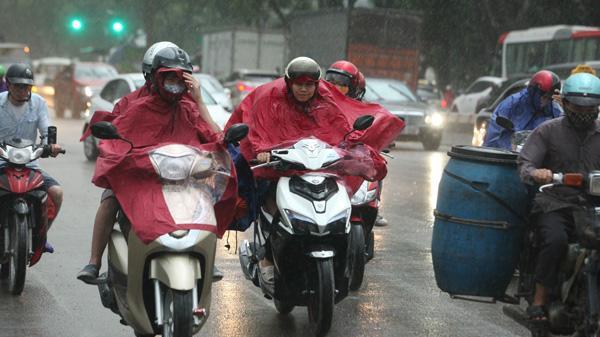 Tin cảnh báo mưa dông trên cả nước hôm nay ngày 16/7