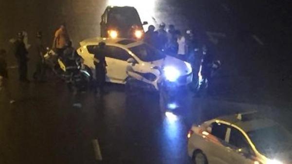 Hà Nội: Cảnh sát cơ động chặn giữ thành công lái xe ô tô tàng trữ ma túy, liều lĩnh chống đối