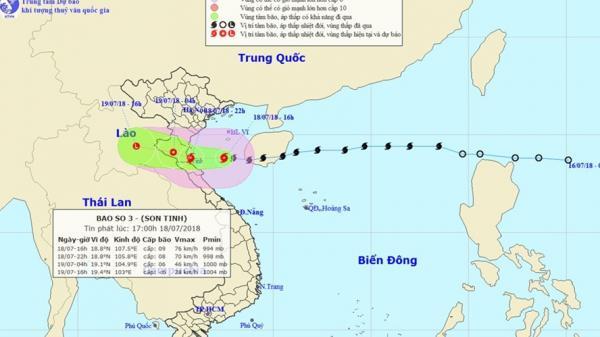 CẢNH BÁO: Bão số 3 gây nguy cơ lũ quét, sạt lở đất ở Hà Giang và nhiều tỉnh, hỏa tốc triển khai ứng phó
