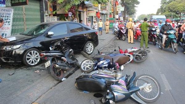 Cao Bằng: Tai nạn giao thông 1 người chết và 2 người bị thương từ ngày 11-17/7
