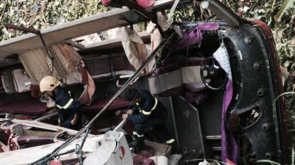 Cao Bằng: Cận cảnh hiện trường vụ tai nạn thảm khốc khiến 15 người thương vong