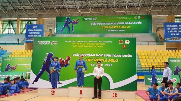 Cao Bằng: Đoạt 2 huy chương vàng, đồng tại Giải Vovinam học sinh toàn quốc 2018