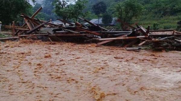 Cảnh báo lũ quét, sạt lở đất ở Hà Giang và một số tỉnh