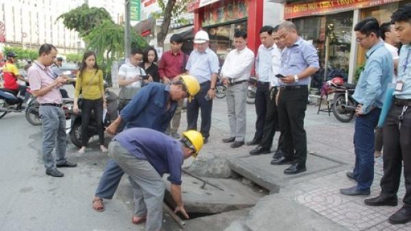 Hà Nội: Phân luồng, tổ chức giao thông trên đường Đội Cấn