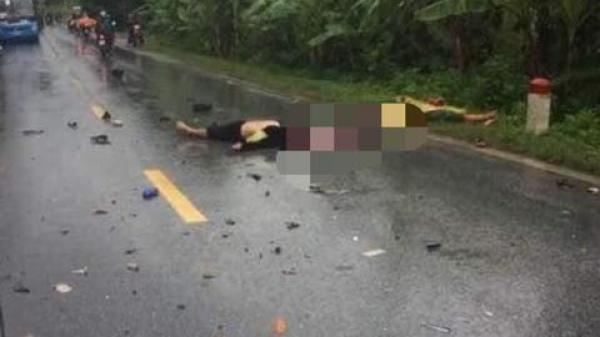 Hà Giang: Đâm trực diện xe khách 16 chỗ, đôi nam nữ tử vong tại chỗ