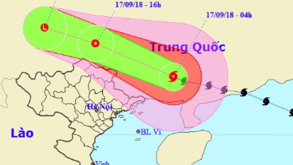 Nóng: Bão Mangkhut suy yếu thành ATNĐ, Quảng Ninh vẫn mưa cực lớn, khó thoát khỏi ngập lụt