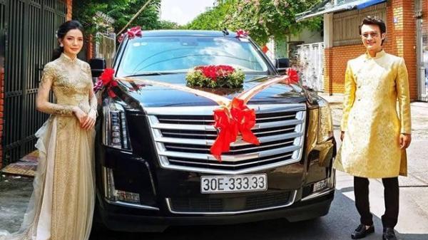 """Màn rước dâu bằng dàn xe """"khủng"""" của chú rể CHẤT CHƠI gây sốt cộng đồng mạng"""