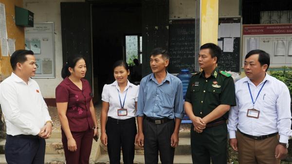 Đoàn ĐBQH tỉnh: Tiếp xúc cử tri các xã Quảng Hưng, Quốc Phong, Độc Lập (Quảng Uyên)