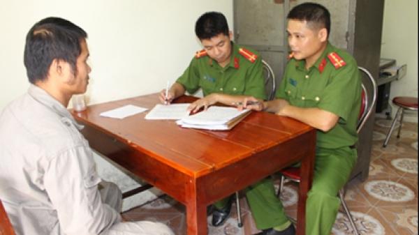 Cán bộ cảnh sát điều tra Cao Bằng hết lòng tận tụy với nghề