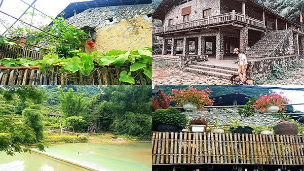 Lên Cao Bằng lạc trôi làng đá Khuổi Ky - Bản làng xinh đẹp giữa núi rừng với 'bể bơi vô cực tràn bờ' siêu mát trong