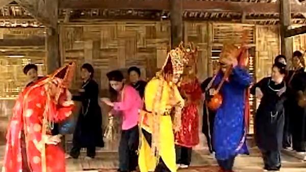 Nghệ thuật múa Chầu trong diễn xướng Then của người Tày Cao Bằng