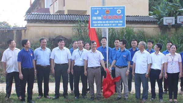Cao Bằng: Đường điện Thanh niên thắp sáng đường quê