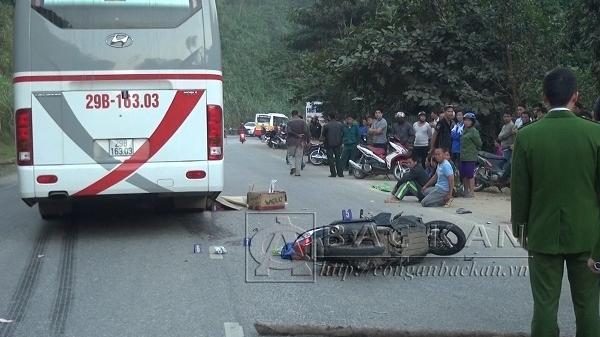 Lưu thông theo hướng Cao Bằng – Hà Nội 3 xe va chạm liên hoàn khiến một người tử vong