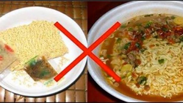 Tất cả chúng ta đều ăn mì tôm sai cách! Đây mới là cách ăn đúng