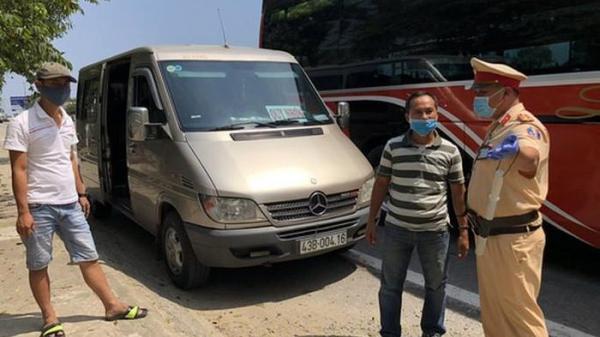 Quảng Ngãi lập 5 chốt kiểm tra y tế, dừng phương tiện vận tải đi các nơi có dịch