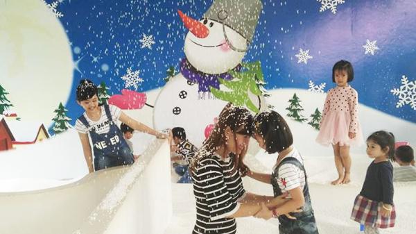 Phát hiện thiên đường tuyết trắng giữa lòng thành phố Buôn Mê Thuột được giới trẻ mê mẩn check in mùa giáng sinh này!