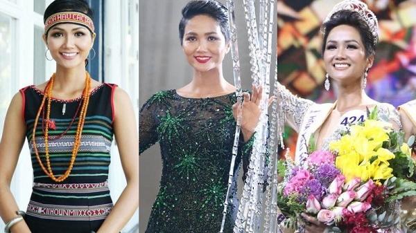 H'hen Niê đăng quang Miss Universe Vietnam 2017, tỏa sáng với chiếc vương miện Empower 2,7 tỷ đồng