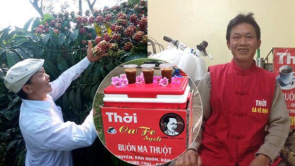 Người đàn ông đầu tiên đem cà phê Đắk Lắk ra thủ đô bằng những chiếc xe rong