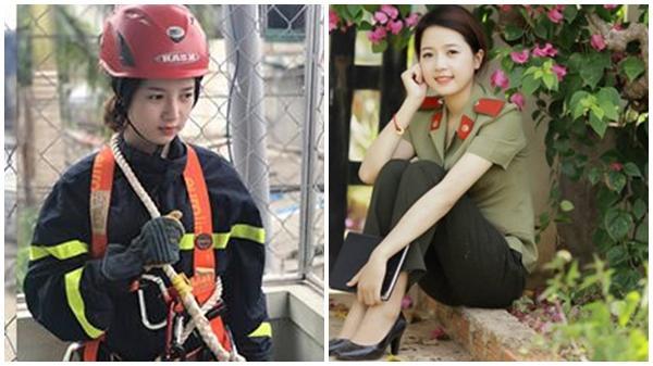 """Nhờ khoảnh khắc xuất thần, """"nữ cứu hỏa"""" Đắk Lắk bất ngờ nổi tiếng"""
