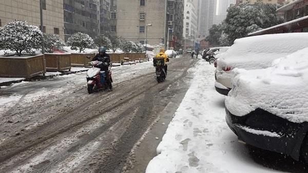 U23 Việt Nam tập luyện khó khăn vì tuyết lớn