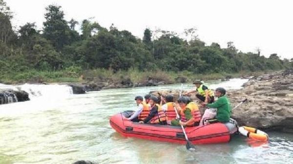 Đưa du lịch mạo hiểm cụm thác Dray Sáp Thượng - Dray Nur vào phục vụ du khách dịp Tết Nguyên đán Mậu Tuất 2018