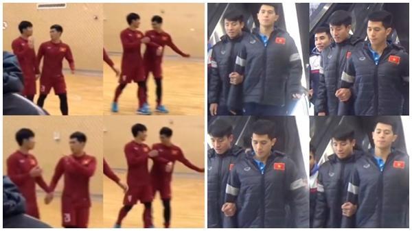 Thêm một 'cặp đôi' mới phát hiện nữa của U23 Việt Nam sau Dũng-Chinh và Thanh-Phượng