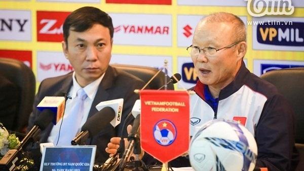 HLV Pank Hang-seo tiết lộ chiến lược cho các giải đấu tiếp theo