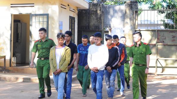 Đắk Lắk: Bắt khẩn cấp 6 đối tượng chống người thi hành công vụ