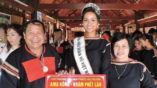 Hoa hậu H'Hen Niê sẽ giao lưu với người dân phố núi vào đêm giao thừa