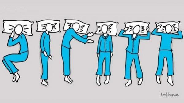 Nhìn tư thế ngủ, đoán tính cách, tương lai của bạn