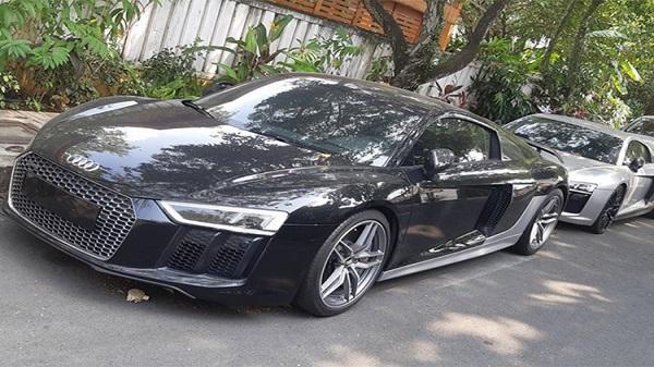 """Đại gia Đặng Lê Nguyên Vũ """"tậu"""" cặp đôi siêu xe Audi R8 mới"""