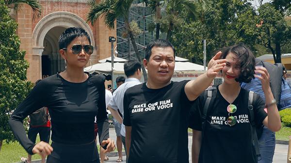 """Hoa hậu H'Hen Niê khoe tài diễn xuất trong buổi casting dự án hành động """"578"""""""