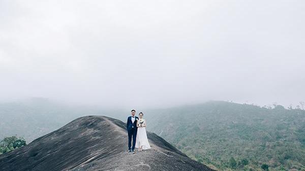 """Bộ ảnh cưới """"so deep"""" của cặp đôi Đắk Lắk"""