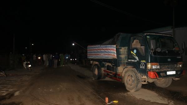 Đắk Lắk: Vừa ra khỏi nhà thì bị xe tải tông chết