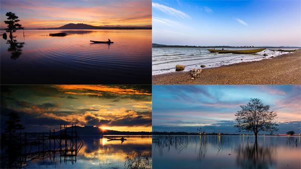 Ngắm vẻ bình dị của hồ nước ngọt đẹp bậc nhất Việt Nam