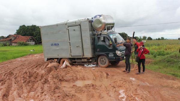 Người dân huyện Ea Súp gặp khó về giao thông