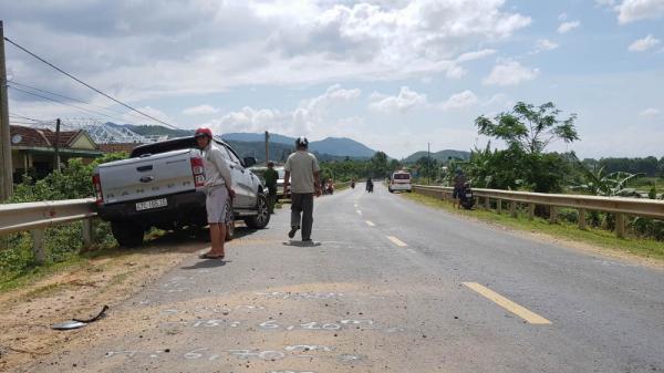 Đắk Lắk: Ô tô lấn làn, tông thanh niên đi xe máy tử vong trước cửa nhà