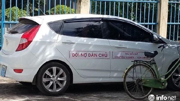 Đắk Lắk: Xe 'đòi nợ chuyên nghiệp' đến xã xin đòi nợ