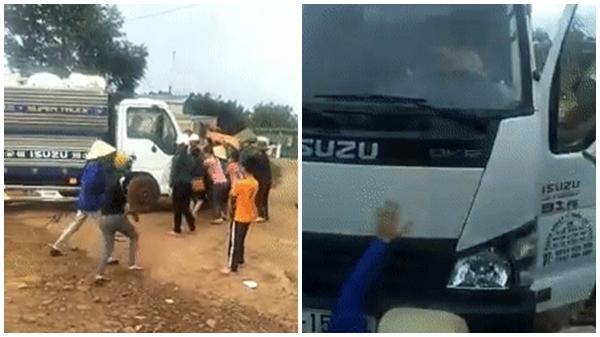 Đắk Lắk: Tài xế chở mủ cao su cố tình tông vào đám đông, cán qua người một phụ nữ nằm dưới gầm xe gây bức xúc