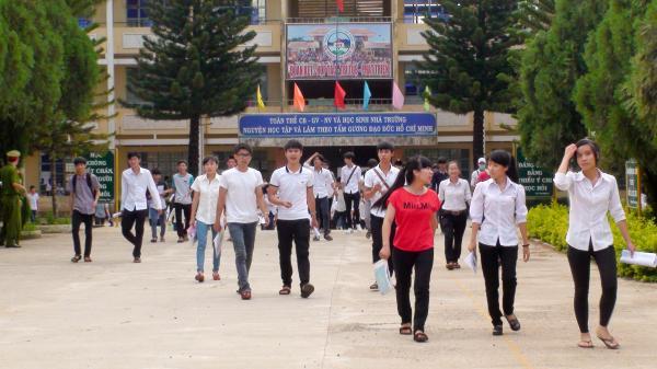 Gia Lai: Gần 13.000 thí sinh bước vào kỳ thi THPT Quốc gia 2018