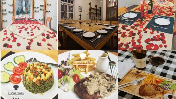 Cho ngày TÌNH LÊN NGÔI với nhà hàng phong cách CHÂU ÂU có 1 – 0 – 2 ở Buôn Mê Thuột