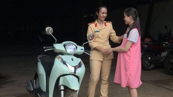 Đắk Lắk: CSGT trả xe cho người bị mất