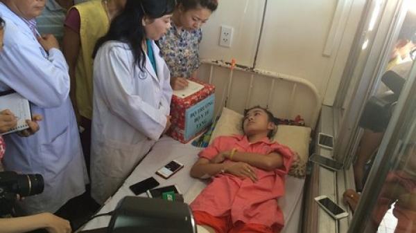 """Đắk Lắk : """"Nữ sinh bị cưa chân"""" đỗ ĐH Luật TP.HCM"""