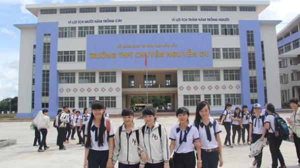Đắk Lắk có 2 trường lọt vào top 200 trường THPT có điểm thi đại học cao nhất năm 2018