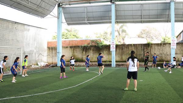 Đắk Lắk: Khai mạc Giải bóng đá mini truyền thống Đoàn khối doanh nghiệp tỉnh lần thứ IV