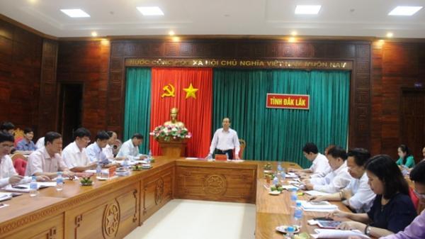 Đắk Lắk: Ban Chỉ đạo cải cách hành chính tỉnh triển khai nhiệm vụ 3 tháng cuối năm 2018