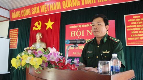Bộ Chỉ huy Bộ đội Biên phòng tỉnh Đắk Lắk tập huấn công tác hậu cần, kỹ thuật, tài chính năm 2018