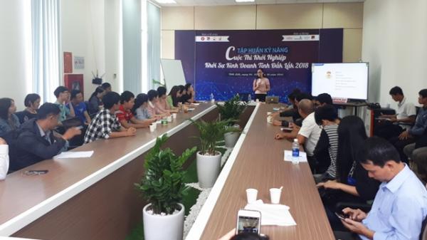 Đắk Lắk: Tập huấn cho 31 đề án vào chung kết cuộc thi khởi nghiệp, khởi sự kinh doanh tỉnh Đắk Lắk 2018
